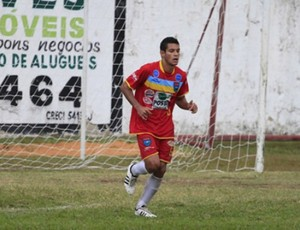 Yuri, volante do Vilavelhense (Foto: Divulgação/Site oficial do Vilavelhense)