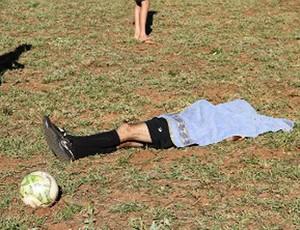árbitro assassinado Nova Andradina ms (Foto: Divulgação/Novanotícias)