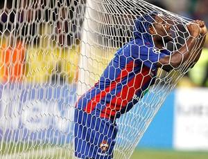 Vagner Love na partida do CSKA contra o Inter de Milão (Foto: Reuters)