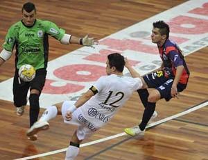 Santos goleia o Cascavel pelas quartas de final da Liga Futsal (Foto: Divulgação/Santos FC)
