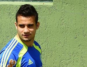 Maikon Leite, atacante do Palmeiras (Foto: Marcos Ribolli / globoesporte.com)