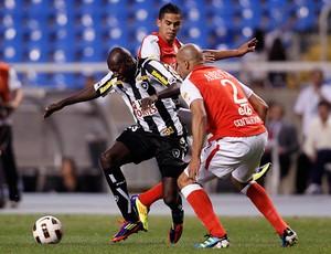 Somalia, Botafogo x Santa Fé (Foto: Fernando Soutello/AGIF)