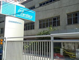 hospital pró-cardiáco botafogo ricardo teixeira (Foto: André Casado / Globoesporte.com)