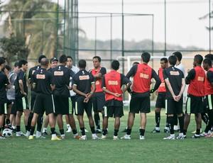 Treino do Atlético-MG na Cidade do Galo (Foto: Bruno Cantini / Site oficial Atlético-MG)