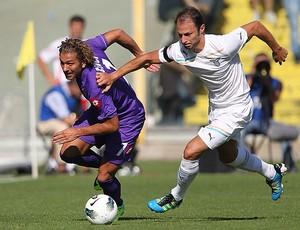 Alessio Cerci da Fiorentina e Stefan Radu da Lazio (Foto: Getty Images)