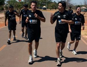 Dimba em treino do Peixe/BRB/Mazza Futsal (Foto: Divulgação)