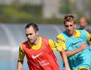iniesta barcelona treino (Foto: Miguel Ruiz / FC Barcelona)