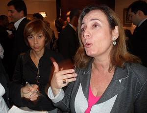 Marcia Lins, secretária de Esportes e Lazer do Rio de Janeiro (Foto: Marcelo Baltar / Globoesporte.com)
