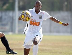 Victor Andrade, atacante do sub-17 do Santos (Foto: Pedro Ernesto Guerra Azevedo/Santos FC)