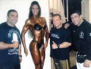 Atleta do fisiculturismo em mais uma competição (Foto: Divulgação)