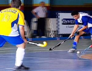 DESTAQUE Intercolegial hóquei sobre patins (Foto: Reprodução SporTV)