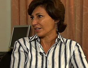 Maria Silvia Bastos Marques, presidente da Empresa Olímpica Municipal (EOM) (Foto: Reprodução / SporTV)