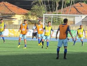 Treino do Botafogo na Urca (Foto: Thiago Fernandes/Globoesporte.com)