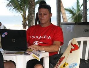 Alexandre Palitot Presidente da Federalção Paraibana de Surf (Foto: Divulgação)