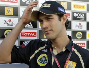 Bruno Senna, boxes GP Japão (Foto: Reuters)