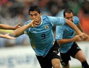 suarez uruguai x bolivia (Foto: AP)