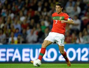 Cristiano Ronaldo, Portugal x Islândia (Foto: AFP)