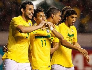 neymar gol costa rica x brasil (Foto: Mowa Press)