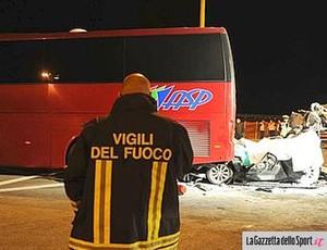 ônibus acidente Toro pullman (Foto: Reprodução)