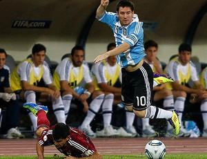 messi venezuela x argentina (Foto: Reuters)