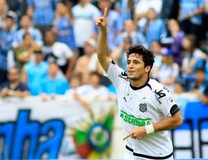 Aloisio comemora gol do Figueirense sobre o Grêmio (Foto: Wesley Santos/Agência Estado)