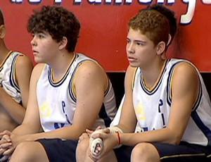 Intercolegial basquete (Foto: Reprodução SporTV)