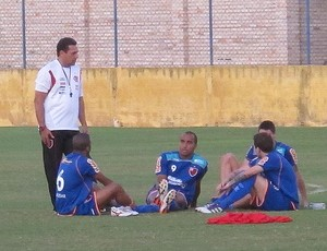 vanderlei luxemburgo junior cesar, deivid, thiago neves e bottinelli  flamengo (Foto: Janir Junior/Globoesporte.com)