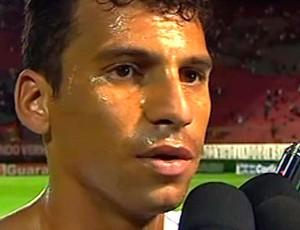 neto baiano atacante do vitoria (Foto: Reprodução/TV Bahia)