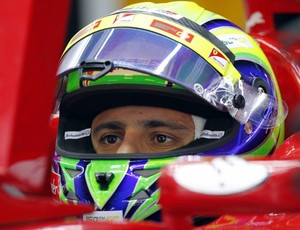 Felipe Massa GP da Coreia do Sul Ferrari treino classificatório (Foto: Reuters)