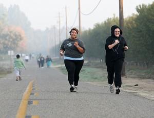 Corrida de rua - queima gordura - obesidade (Foto: Getty Images)