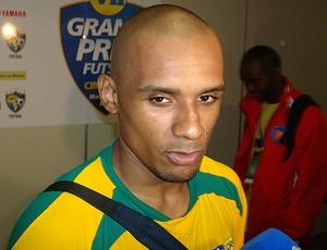 Lukaian, pivô da seleção brasileira de futsal (Foto: Flávio Dilascio / Globoesporte.com)