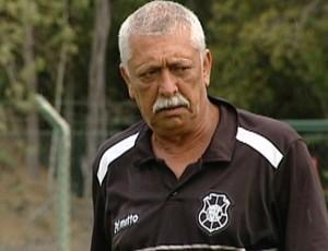 Mauro Rosa, técnico do Rio Branco-ES (Foto: Reprodução/TV Gazeta)