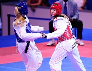 Taekwendo - Natalia Falavigna luta no Pan-Americano em Guadalajara (Foto: Vipcomm)