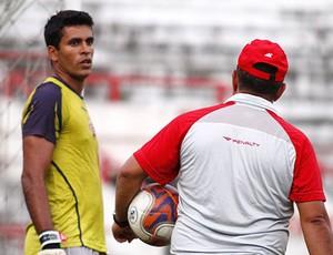 Glédson volta a gol alvirrubro contra o Vitória (Foto: André Nery/Agência Náutico)