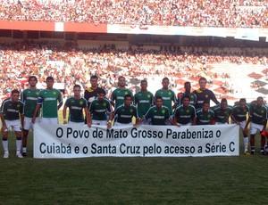 Santa Cruz x Cuiabá (Foto: Aldo Carneiro)