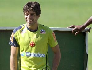 Juninho Pernambucano durante treino do Vasco (Foto: Jorge Wiliam / Agência O Globo)