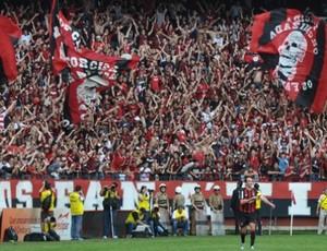 Torcida do Atlético-PR na Arena da Baixada (Foto: Divulgação/Atlético-PR)