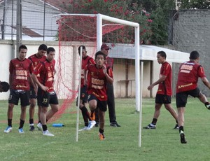 Treino no Sport (Foto: Lula Moraes/GloboEsporte.com)