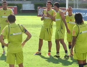 Diego Souza no treino Vasco (Foto: Rafael Cavalieri/Globoesporte.com)