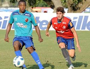 Renato treino Flamengo (Foto: Alexandre Vidal / Fla imagem)