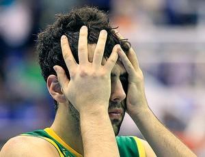 vitor benite basquete brasil x república dominicana pan (Foto: Reuters)