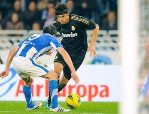Kaká no jogo do Real Madrid contra o Real Sociedad (Foto: Reuters)