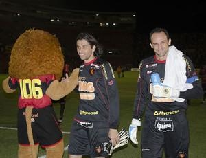Magrão e Rodrigo Calaça, goleiros do Sport (Foto: Divulgação / Sport)