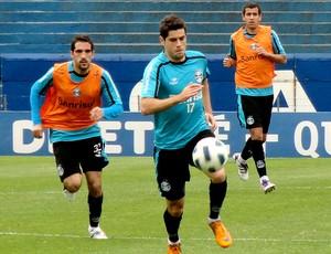 Miralles grêmio treino (Foto: Alexandre Alliatti / Globoesporte.com)