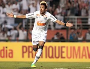 Neymar santos gol atlético-PR (Foto: Miguel Schincariol / Agência Estado)