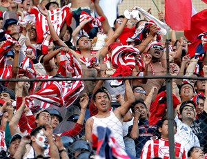 torcida do Chivas Guadalajara, do México (Foto: AP)