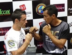 Wellington Jacaré e Marcos Galvañ Manchon (Foto: Bruno Marinho / GloboEsporte.com)