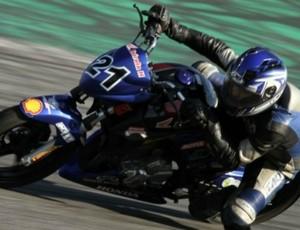 Marcos Câmara, piloto capixaba campeão da CB300 (Foto: Divulgação/VIPCOMM)