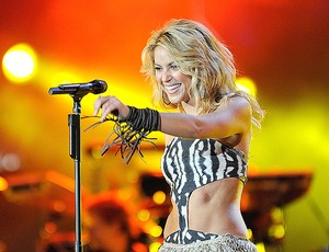 SHAKIRA ABERTURA COPA DO MUNDO 2010 (Foto: Getty Images)