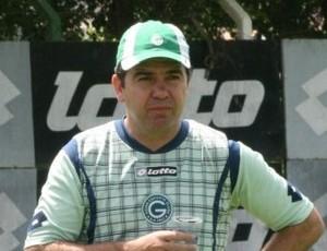 enderson moreira, técnico do goiás (Foto: Rosiron Rodrigues/Goias E.C.)